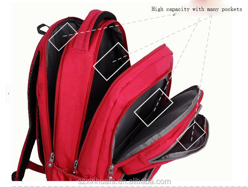 Fashion back to school backpack for teens girls