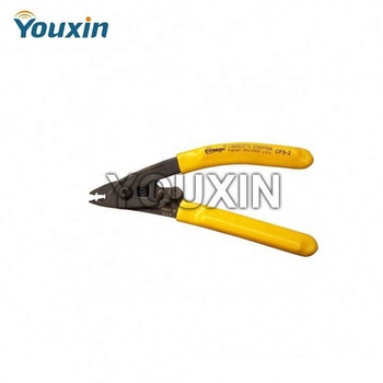 Three Hole Jacket Remover / Fiber Optic Stripper