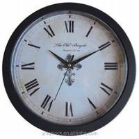 10 inch plastic wall clock with hidden box