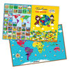 E1010 2014 hot brand new world map puzzle creative magnetic learning educational toys for teacher resources