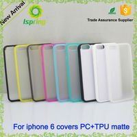 2016 Hot sale PC TPU 2 in 1 mobile case for iPhone6, for iphone 6 phone case