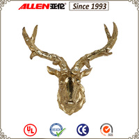 Resin and main sheep head on resin decoration resin deer head