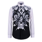 New Design Casual Mens High Collar Custom Cotton Sublimated Polo Shirt