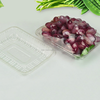 Dongguan Factory 2016 New on Market Clear Plastic Tray for Fruit &Vegetable Packaging