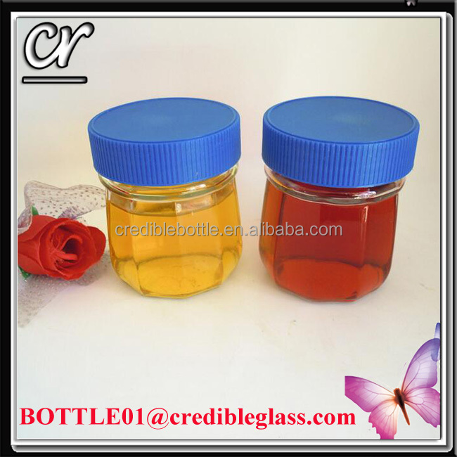 250ml glass bottle for jam food