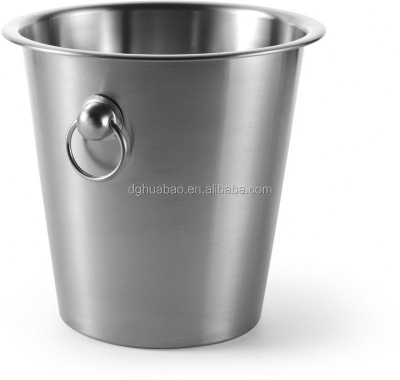 bowl sharpe stainless steel ice bucket with stand