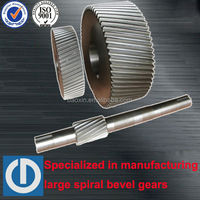 spur gear with shaft for gearboxes made by baoxin in China