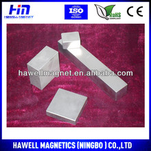 High Power Generator N52 ndfeb long block magnet for wind China Manufacturer