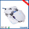 Professional 10 Buttons 4800 DPI Adjustable Optical Wired computer Gamer mouse Gaming USB mouse with RGB Breathing LED