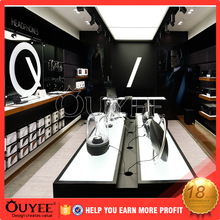 Customized mdf retail store interior design Electronics and Mobile Phone Accessories covers Display furniture Kiosk