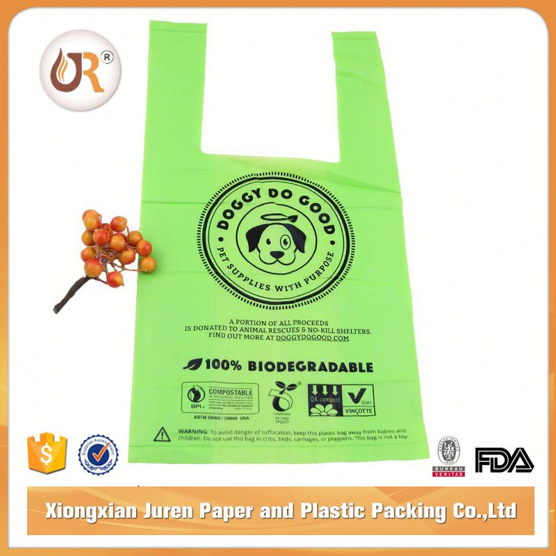Scented Biodegradable Dog Poop Garbage Bags