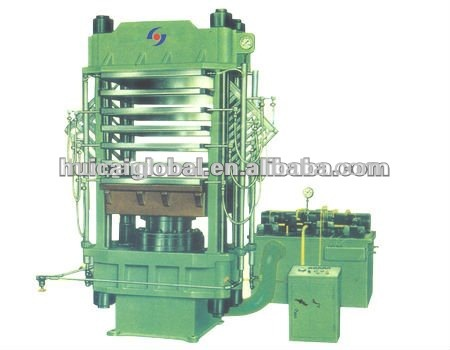 plate press vulcanizer& rubber floor tire machine with ISO9001