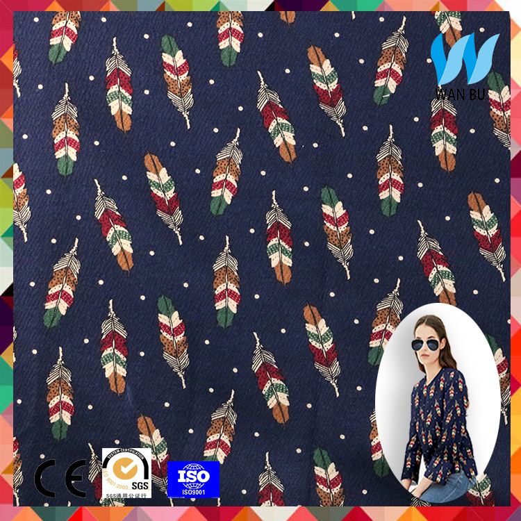 2017 newest manufacture cotton woven fabric 100% cotton stretch poplin printed fabric