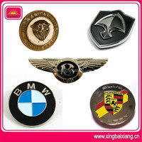 high quality chrome ford badges,3d gold plated badges for bmw