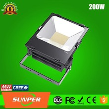 color changing outdoor solar flood light 200W 250 watt led flood light, flood light spotlight