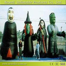 Sell Well inflatable monster for halloween for your choice