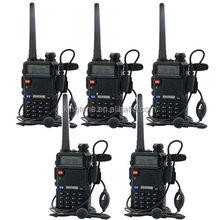 Wireless 7 watts ORIGINAL Baofeng UV-5R Walkie Talkie Dual Band UV5R Portable Hands Free 2 Way Radios