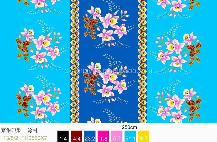 75D*150D 100% Polyester printed peach skin fabric factory direct sale/peach skined bedding fabric
