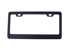 high end carbon fiber license frame for car