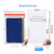 Vertical Style pvc waterproof business id credit card wallet holder for ID Card Badge