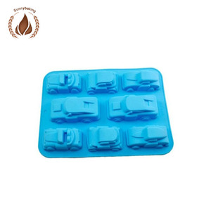 Food grade material silicone car cake mold, car silicone bakeware wholesale factory