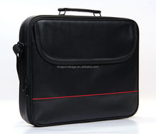 "17.3"" PU Leather Bag For Laptop Messenger Bag With Laptop Compartment"