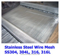 (Manufacturer) 300 micron 304 316 Woven Stainless Steel Wire Mesh Screen /Cloth
