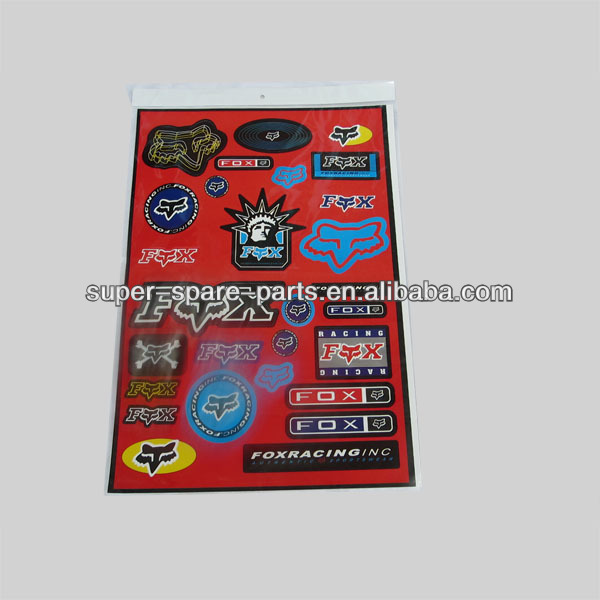 China performance wholesale vehicle custom removal decals