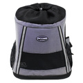 Foldable travel bag sided pet carrier