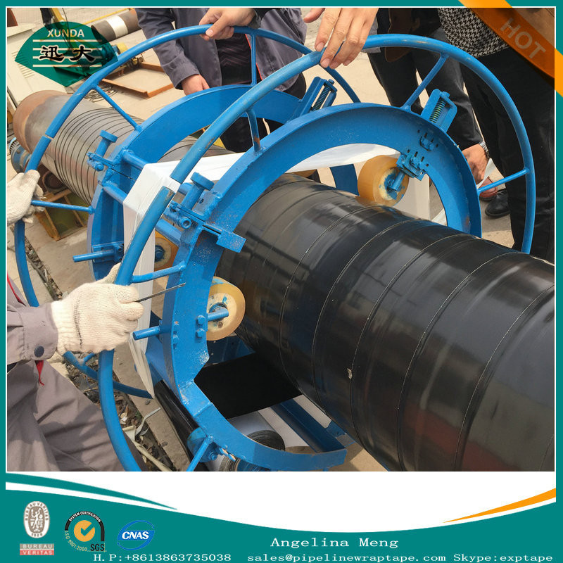 New Type Hand applied tape wrapping machine for the steel pipeline