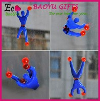 Popular sticky spider-man toys Sticky Wall action figures wholesale