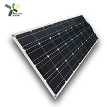 best price Flex Solar 12V 100w semi flexible solar panel for marine