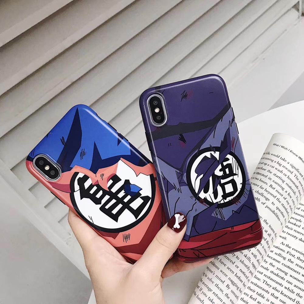 dropshipping Dragon Ball <strong>Z</strong> Sayajins Anime Silicone IMD Phone Cover <strong>Case</strong>