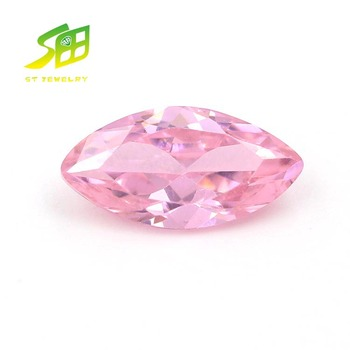 hight quality Marquise shape zircon jewelry synthetic cz gemstone