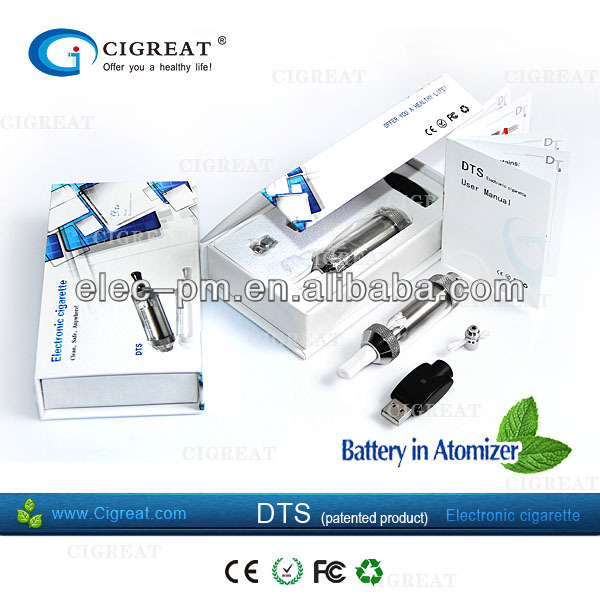 Cigreat colorful best DTS clearomizer atomizer smart e cigarette atomizing with longger wicks