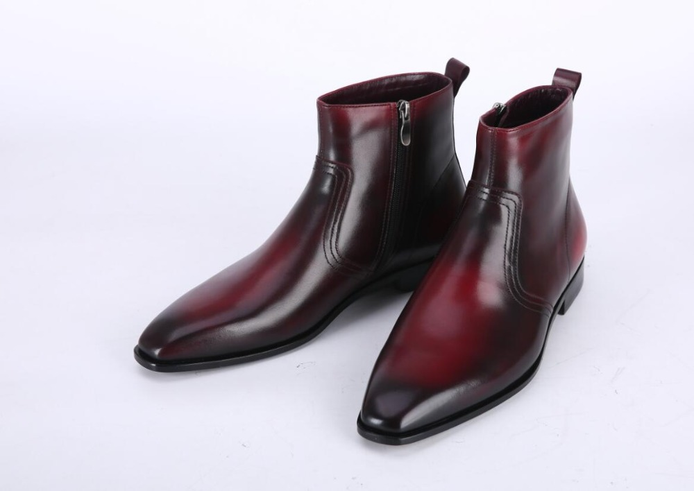 TERSE 2017 new release custom mens designer Italian leather shoes handmade leather <strong>boots</strong>