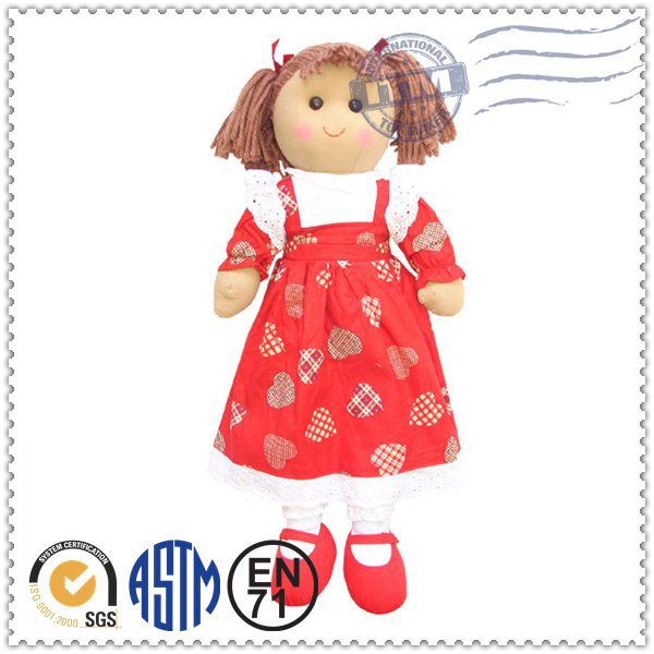 Pretty new design hot selling wholesale cheap cute mexican dolls