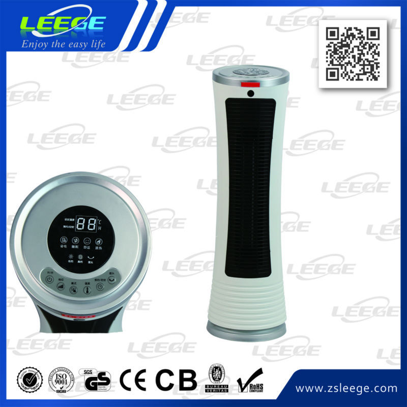 GS CE ROHS2000W warm hot wind selection ptc electric fan heater