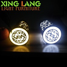 Gift Portable Mini 6PC Light Bead Eyesigt Protection Classical acrylic engraving LED Lamp