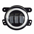 "Jeep Wrangler 07-15 4"" 30W Fog Lamp Angel Eyes Led Fog Light"