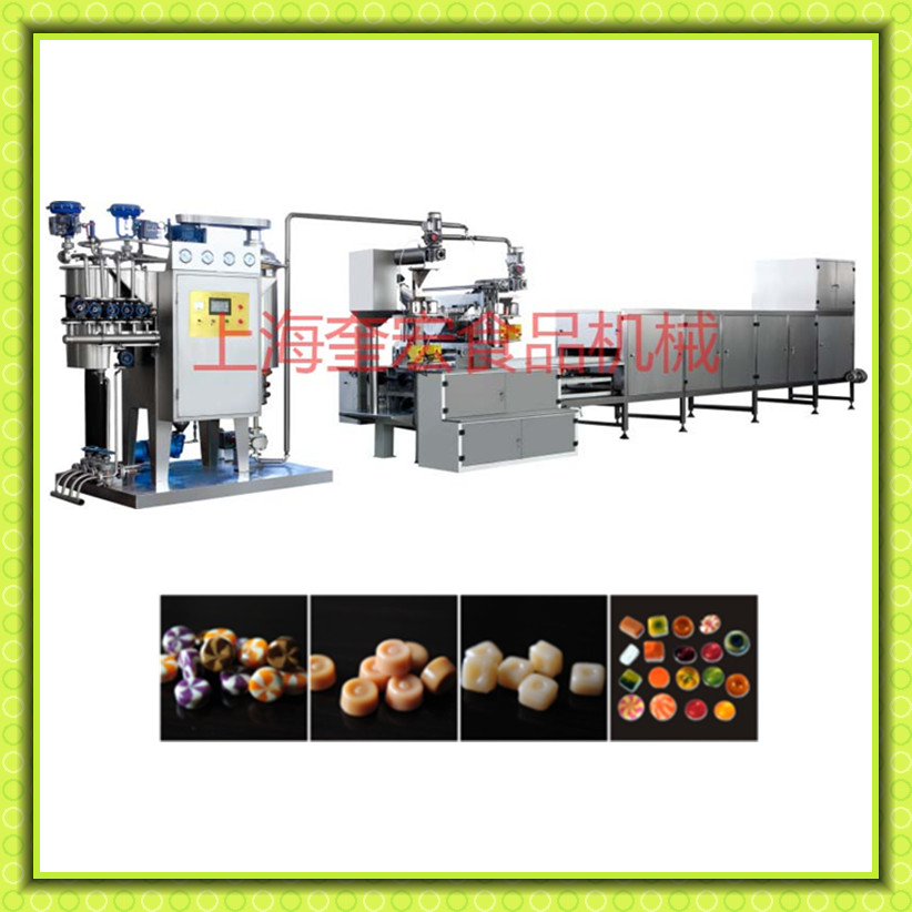 shanghai kuihong jelly candy machine /hard candy machine /lollipop candy machine
