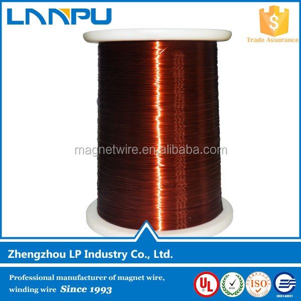 High Temperature Insulated Enameled Copper Wire Electric Materials Motor Winding Wire