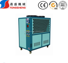 open type air-cooling scroll water chiller design for foaming machine