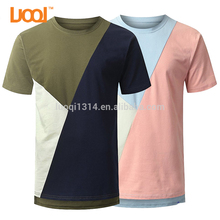 Wholesale Online Shopping Men 180g 95% Cotton 5% Spandex Colorant Match Tshirt