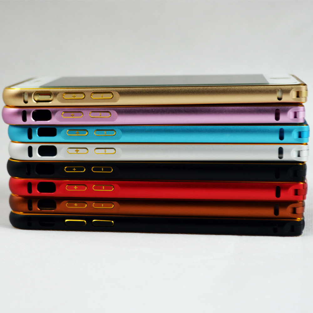 Hot sale high quality cell phone chrome aluminum hard case for iphone 5