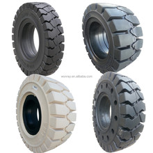 hot sale 12 14 18 23 24 28 29 31 33 inch solid pneumatic shaped cushion rubber forklift tires