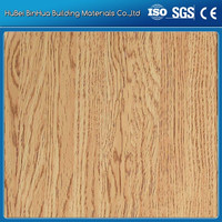 interior wood wall cladding/Wooden Grain aluminium composite panel