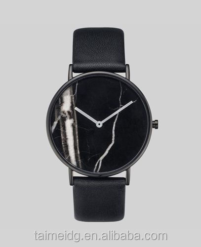 stainless steel case high grade japan movt marble watch
