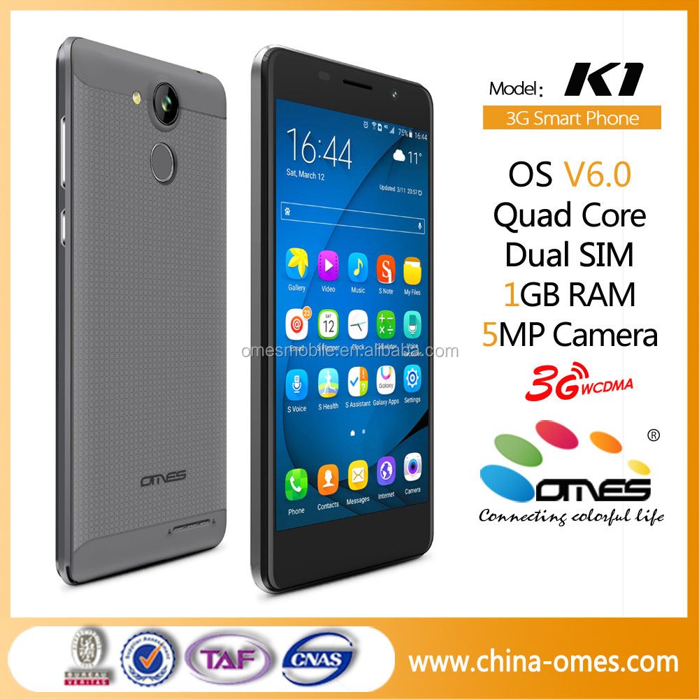 K1 5 inch screen unlocked smartphone mtk6737 android 6.0 cheapest china mobile phone smartphone