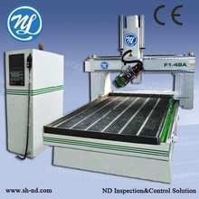 dash kit manufacturing Four axis 1325CNC Router ATC for wood working door and window